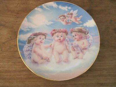 "1994 Hamilton DREAMSICLES 6 3/8"" Porcelain Plate: THE FLYING LESSON..Made in USA"