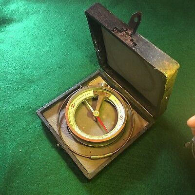 Vintage Mining Compass Dip Neddle W S Darley & Co. Chicago Usa