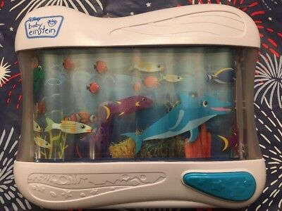 🐬 Disney Baby Einstein Baby Neptune Mobile Soother Lights & Music 🎶 Crib Toy
