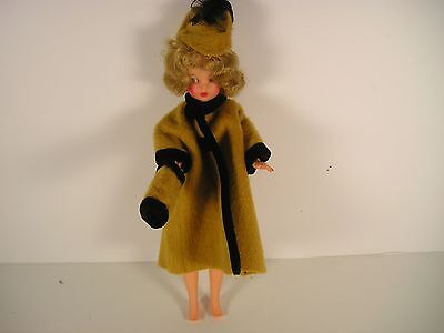 Ideal Misty Tammy Tressy Mommy Made Coat/hat/muff Vintage
