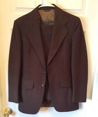 Vintage Panhandle Slim Suit Sz Small/extra Small Western Jacket/slacks