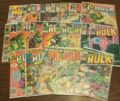 The Incredible Hulk 22 Issue Lot 207-405 + Annual