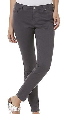 Joe Boxer Junior's Colored Skinny Jeans Grey Size 1 New with tags