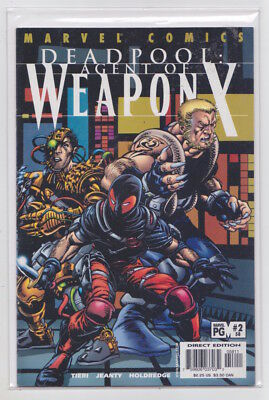 Deadpool 58 Agent of Weapon X Wolverine 2001 series rare HTF