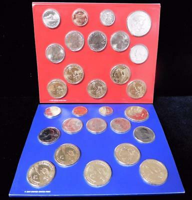 2012 Denver and Philadelphia Uncirculated 14 Piece Mint Sets with COA