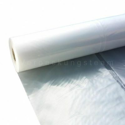 Flachfolie transparent 4000 mm x 50 lfm 100 my