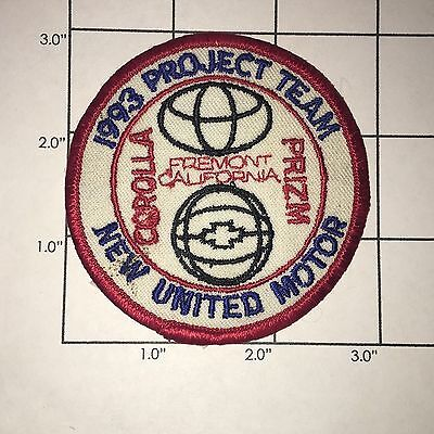 1993 Project Team Patch - New United Motor - Vintage
