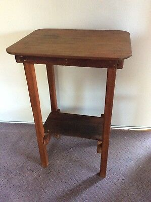 Very Old Rustic Table Also Suit As Hall Table Dresser Or Planter Stand