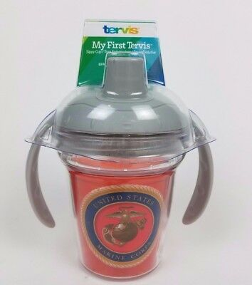 NEW Tervis My First Tervis Sippy Cup Lid USMC Marines OORAH   e