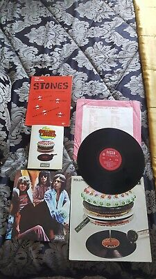 The Rolling Stones Let It Bleed Complete Rare 1St Pressing 1A 1A Excellent Con