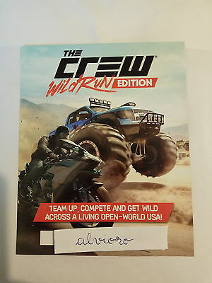 The Crew Wild Run (Game Pack) PS4 DLC BONUS CODE ONLY - No Game Included
