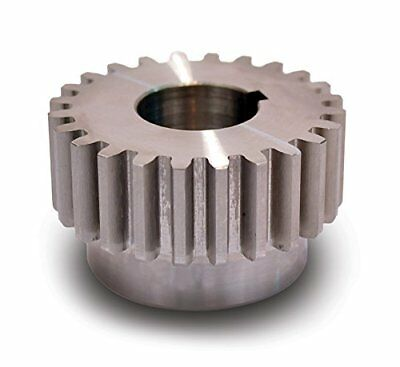 Boston Gear ND24B-7/8 Spur Gear, 14.5 Pressure Angle, Steel, Inch, 12 Pitch, OD,