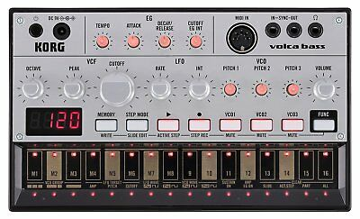 LIMITED OFFER KORG volca bass ANALOGUE BASS MACHINE