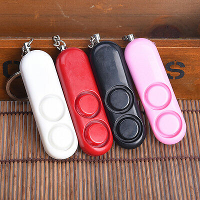 New Personal Anti-attack Safety Security Panic Loud Alarm Emergency Keychain Kit