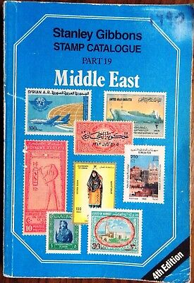 SG GIBBONS Catalogue Part 19 MIDDLE EAST 4th Edition 1990 Egypt Iraq Oman etc