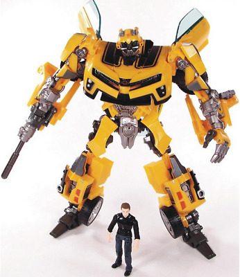Transformation Robot Human Alliance Bumblebee and Sam Action Figures Toys