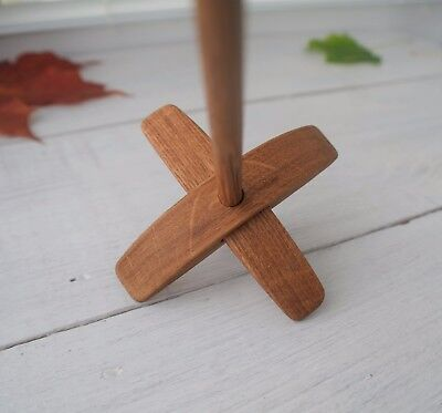 Small Turkish Drop Spindle Oak USED