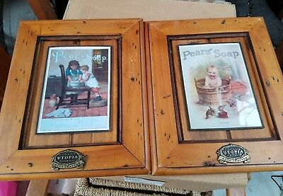 Pears Soap pictures. framed