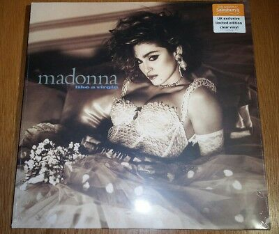 Madonna - Like A Virgin LP UK ONLY CLEAR VINYL 1000 COPIES WORLDWIDE NEW/SEALED