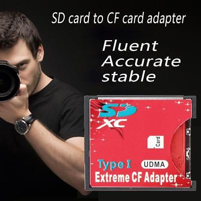 High Speed WiFi SDXC SDHC SD to Compact Flash CF Type II Card Reader AdapterW