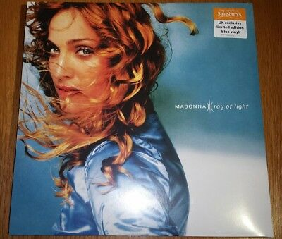 Madonna - Ray Of Light LP UK ONLY BLUE VINYL 1000 COPIES WORLDWIDE NEW/SEALED