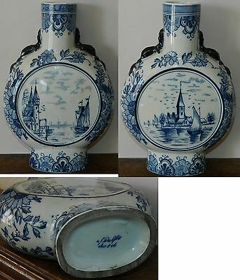 Superbe vase DELFT (signé) en excellent état (Perfect condition WORLD SHIPPING)