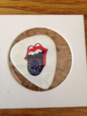 The Rolling Stones  guitar pick