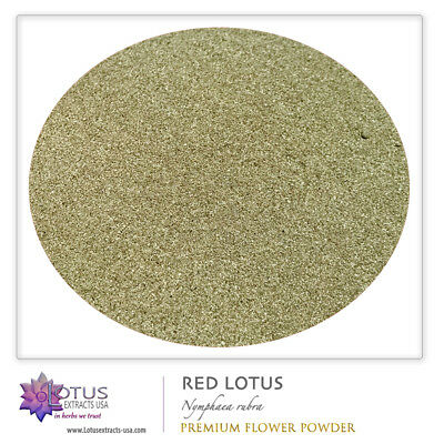 28g Red Lotus Wildcrafted Premium Fermented Powder - SUPER RELAXING NO STRESS