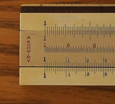 "K&E 4053-2 8"" slide rule"