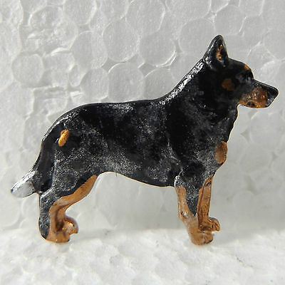 Australian Cattle Dog Blue Lapel Pin Dog Breed Jewellery Handpainted Handcrafted