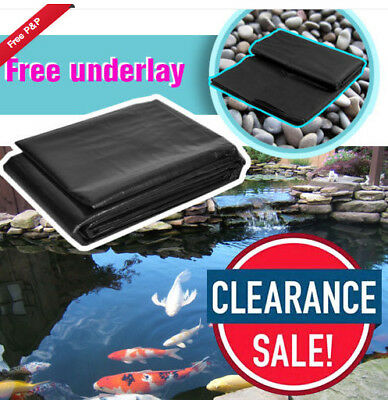 Top HDPE Pond Liners - Custom Fit for Garden Pools / Lotus Pools / Fish Pond
