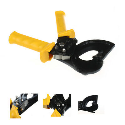 HS-300B 300mm2 Max Ratcheting Cable Cutter Germany Design Wire Cutter Plier