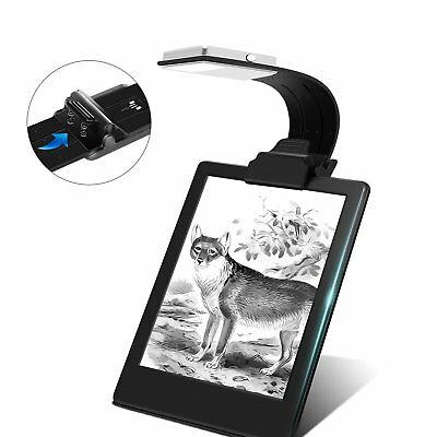 Ayotu Clip-on LED Reading Light Lamp Flexible Arm E-Reader Light with USB Book