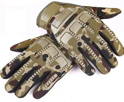 Mechanix MPact Military Tactical Army  Combat Assault Gloves Camouflage  Size XL