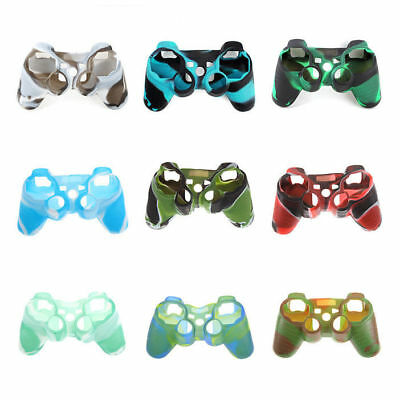 Silicone Rubber Soft Case Grip Shell Skin For Sony Playstation 3 PS3 Controller