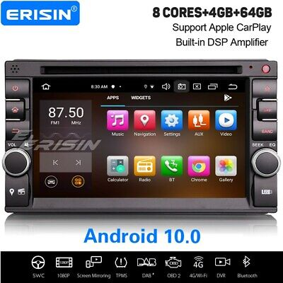 Android 7.1 Universal Double 2DIN Car Stereo GPS Radio DAB DVR OBD WiFi 3G DVB-T