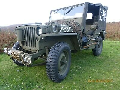 1942 Ford GPW US army jeep