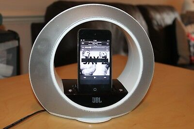 JBL Radial Micro Speaker & Charging Docking Station for iPods and iPhones 30-pin
