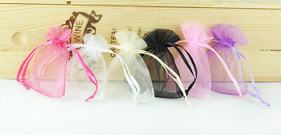 Wholesale Bulk Lots Organza Wedding Party Jewelry Gift Favor Organza Candy Bags
