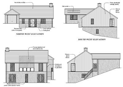 Building Plot With Full Consent For Large Detached Dwelling -- Newtown Powys