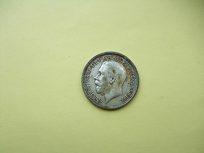 George V Sixpence Coin - 1926