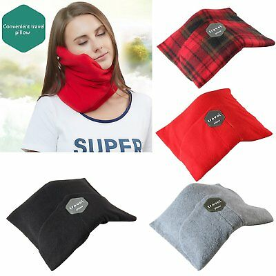 Portable Super Soft Neck Cushion Support Airplane Travel Pillow Colors