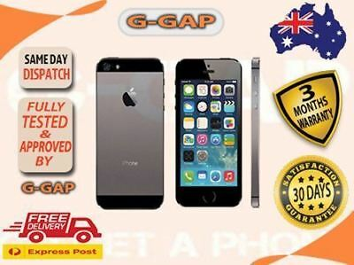 Apple iPhone 5S Unlocked 4G LTE 16GB Good Condition USED AU STOCK