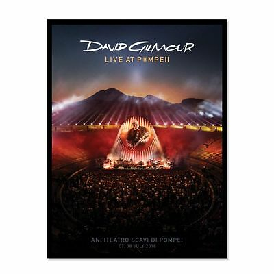 David Gilmour Pink Floyd Live At Pompeii Rare Limited Lithograph 200 -Uk Version