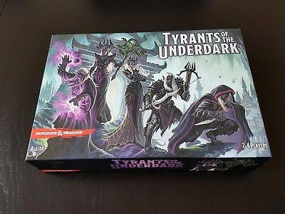 Tyrants of the Underdark D&D Board Game