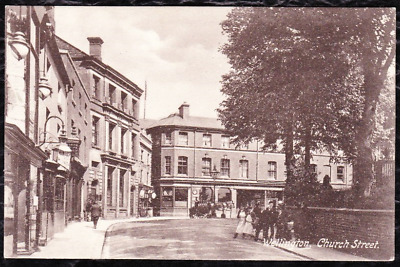 Wellington - Church Street - 1903 Frith's Postcard Posted In 1912 -