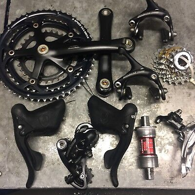 Campagnolo Mirage 3x9 Groupset, Mechs, Cranks, Brakes, Levers