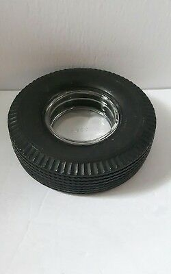 vintage Firestone tire advertisement ashtray gum dipped deluxe champion Canada