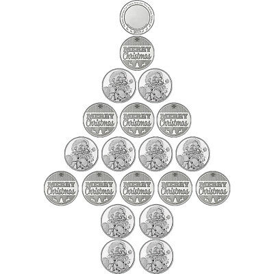HOLIDAY SPECIAL!! SilverTowne 20 PC Christmas Holiday Medallions
