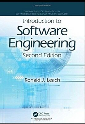 Introduction to Software Engineering by Ronald J. Leach 2nd Ed- Read Details